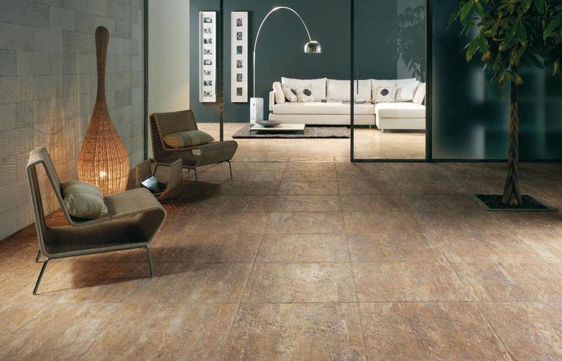 Modern flooring tiles